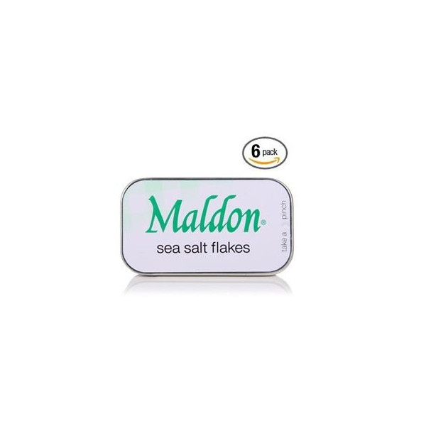 Maldon Salt Pinch Tins - 0.35 Oz. (6 Pack)