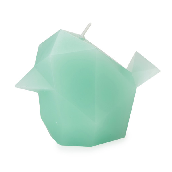 PyroPet Candles Bibi Candle, Mint Green