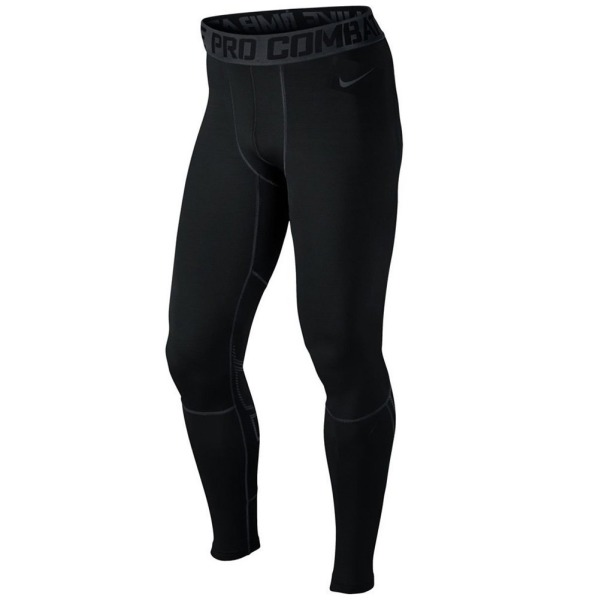 Nike Pro Combat Mens Hyperwarm Drifit Compression Pants Black Size XL
