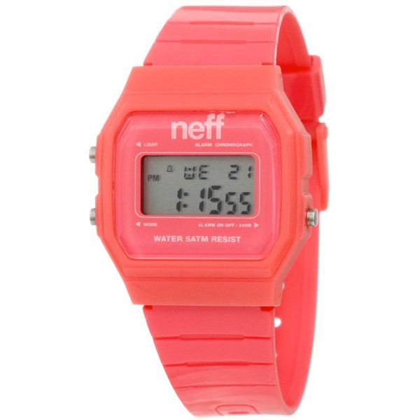 Neff Men's  Old School Flava Pink Watch