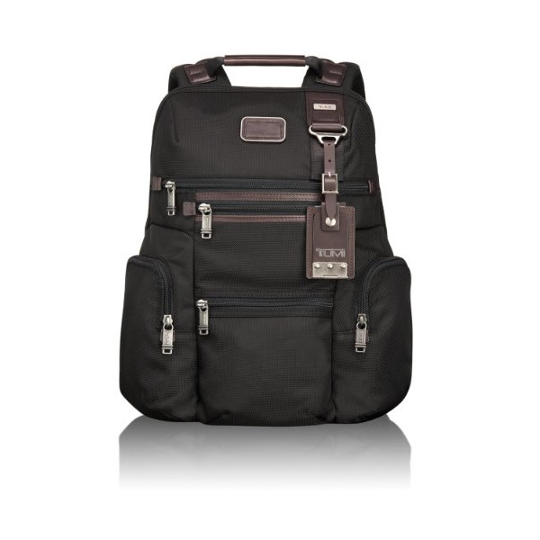 Tumi Alpha Bravo Knox Backpack, Hickory, One Size