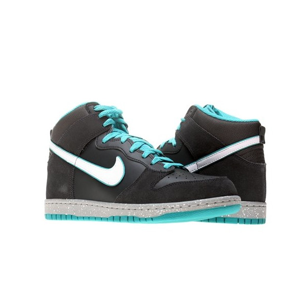 Nike Dunk High Mens Basketball Shoes 317982-052 Anthracite 12 M US