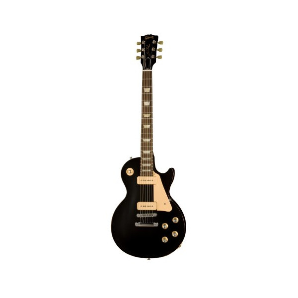 Gibson Les Paul Studio 60s Tribute Electric Guitar, Worn Satin Ebony
