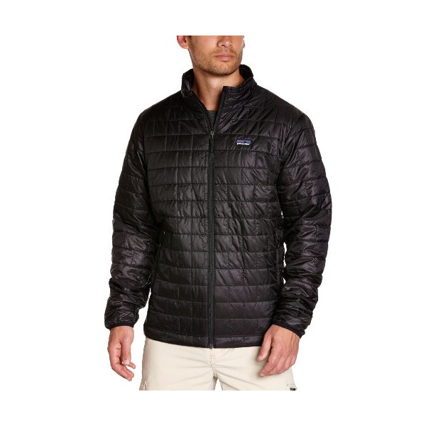 Patagonia Nano Puff Jacket - Men's (Medium, Black)
