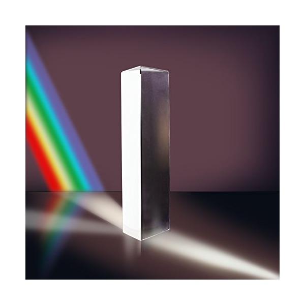 "Neewer® 7.8""/20cm Optical Glass Triple Triangular Prism Physics Teaching Light Spectrum"