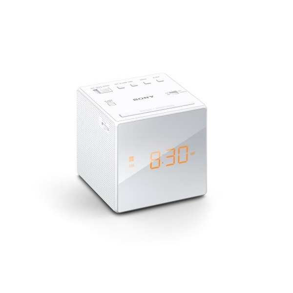 Sony ICFC1 Alarm Clock Radio, White