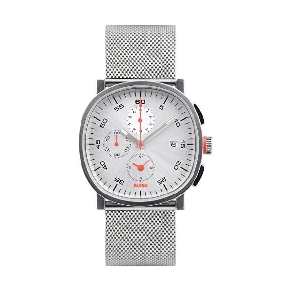 Alessi Men's AL5030 Tic15 Analog Display Analog Quartz Silver Watch
