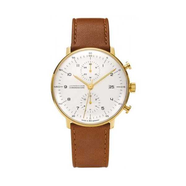 Junghans Max Bill Chronoscope Chronograph 027/7800.00