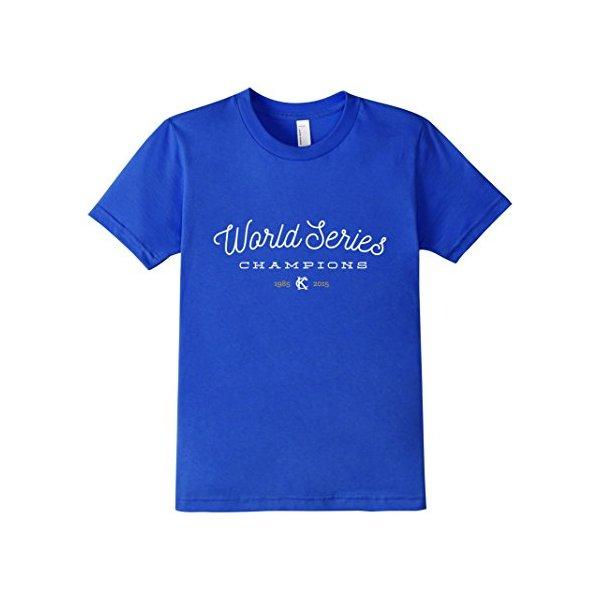 World Series Champions 2015 - Blue - Kids 12 - Royal Blue