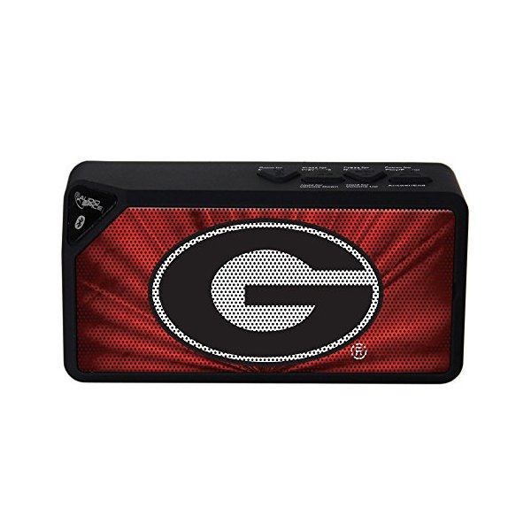NCAA Georgia Bulldogs BX-100 Bluetooth Speaker, Black