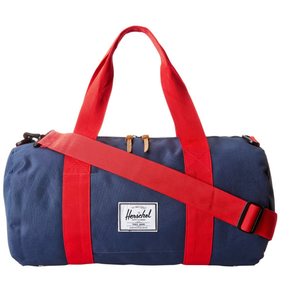Herschel Supply Co. Sutton Mid-Volume, Navy/Red, One Size