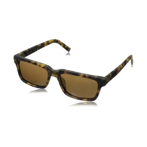 John Varvatos Men's V791 Square Sunglasses,Tokyo Tortoise,55 mm