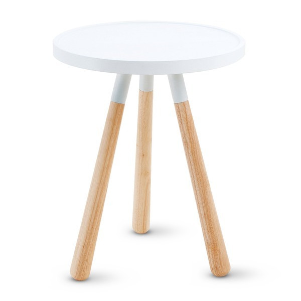 Present Time Leitmotiv Orbit Table, White
