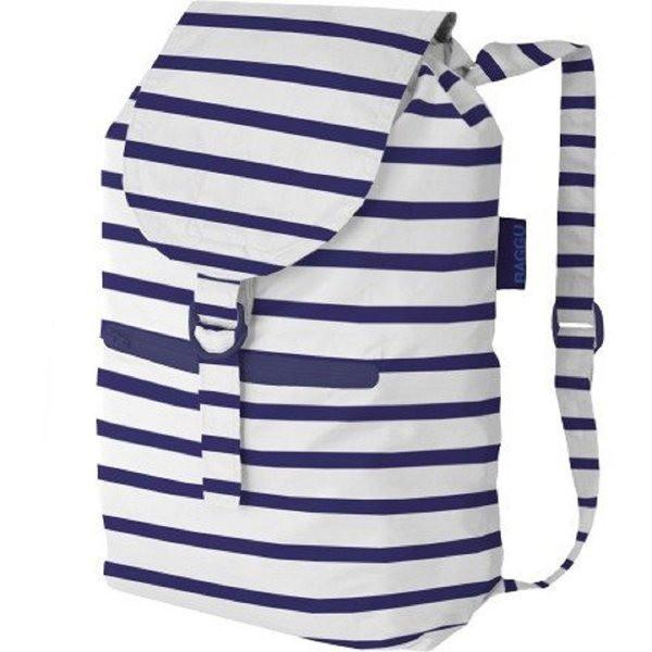 Baggu Nylon Daypack, Sailor Stripe