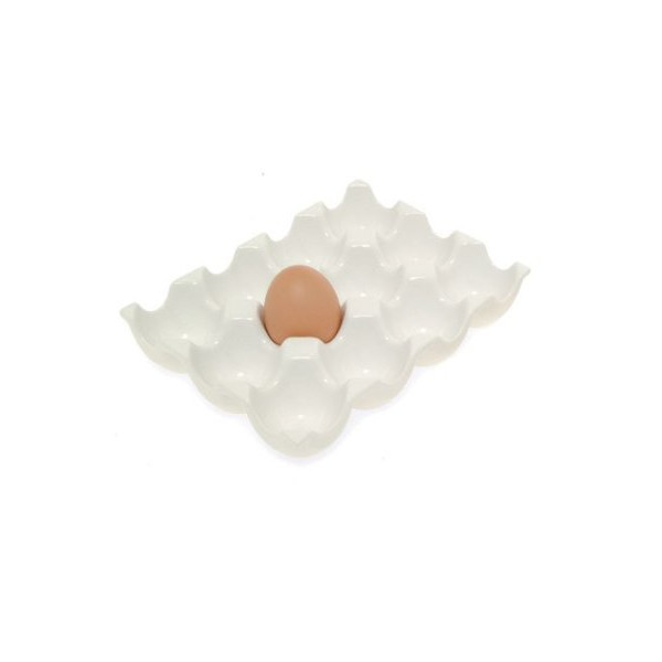 Kikkerland Ceramic Egg Rack
