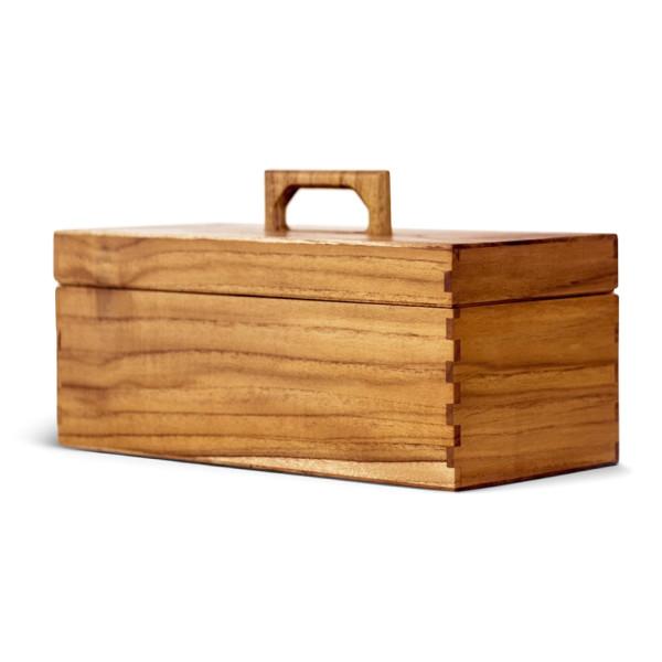 Abner Teak Tool Box