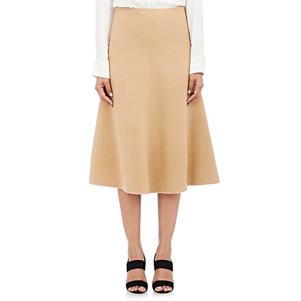 Theory Uthema DF Skirt in New Divide, Camel