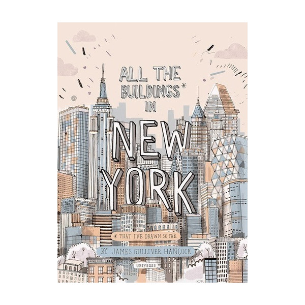 All the Buildings in New York: That I've Drawn So Far