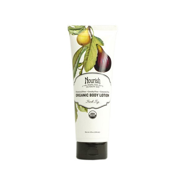 Nourish Organic Body Lotion Fresh Fig, 8 oz