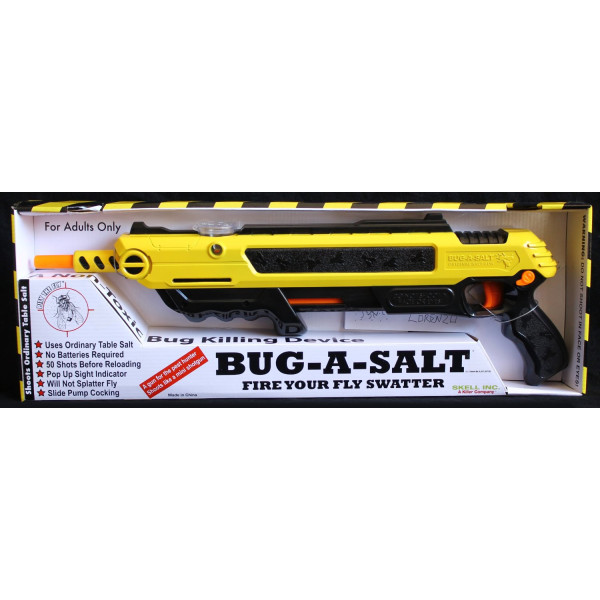 BUG-A-SALT Fire Your Fly Swatter: The Original Salt Gun