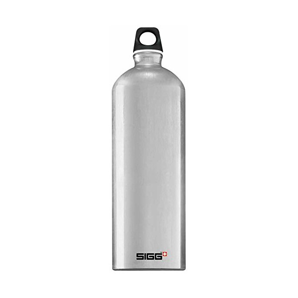 Sigg Traveller Water Bottle (Smoked Pearl, 0.6-Litre)
