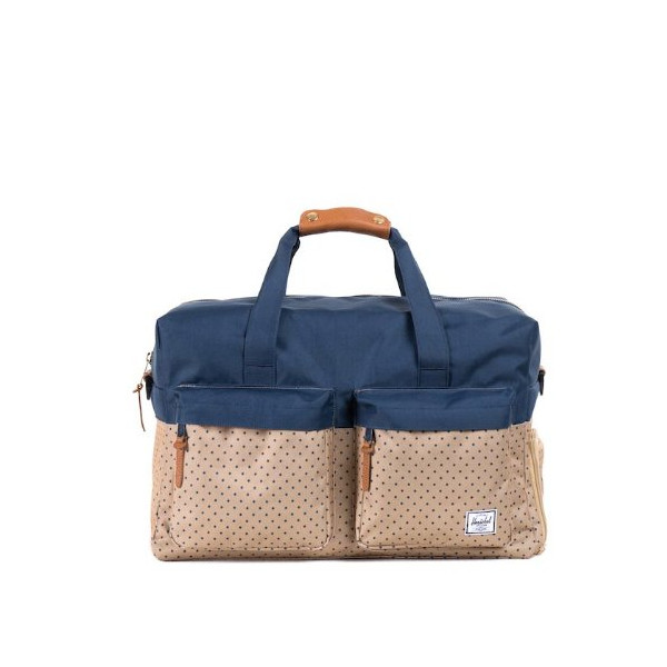 Herschel Supply Co. Walton, Khaki Polka Dot/Navy, One Size