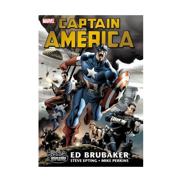 Captain America By Ed Brubaker Omnibus Volume 1 HC