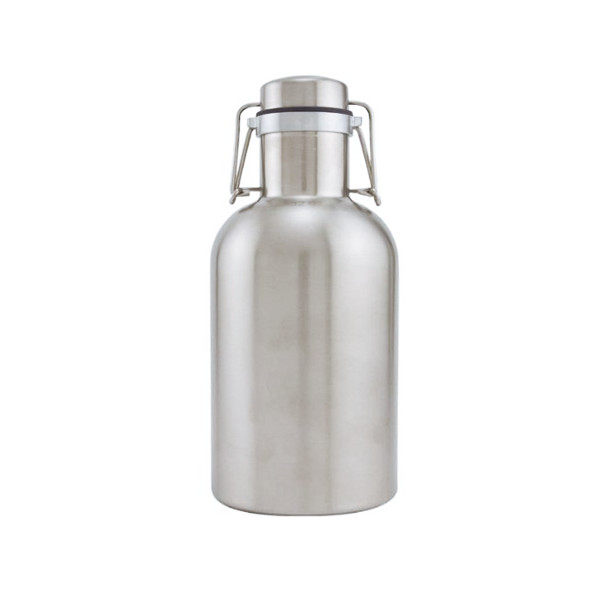 Stainless Steel Beer Growler, 32oz