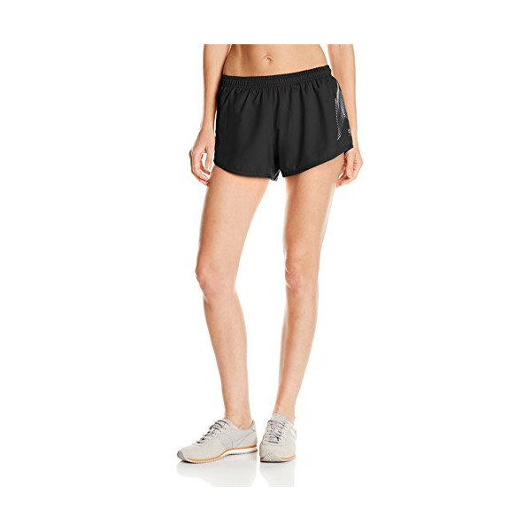 Oiselle Women's Distance Shorts, Black, Small