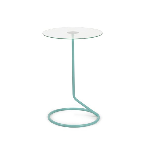 Umbra Loop Side Table, Surf Blue