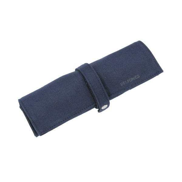 Delfonics Roll Pen Case Dark Blue