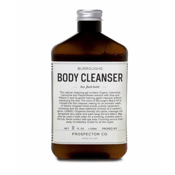 Prospector Co Body Cleanser, Burroughs