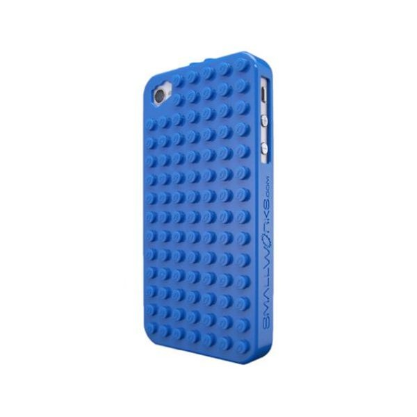 SmallWorks BrickCase for iPhone 4/4S - Verizon, AT&T and Sprint-Blue