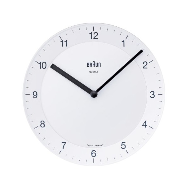 Braun Wall clock BNC006WHWH-NRC