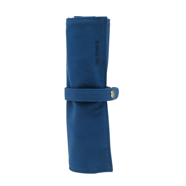 Delfonics Roll Pen Case, Blue