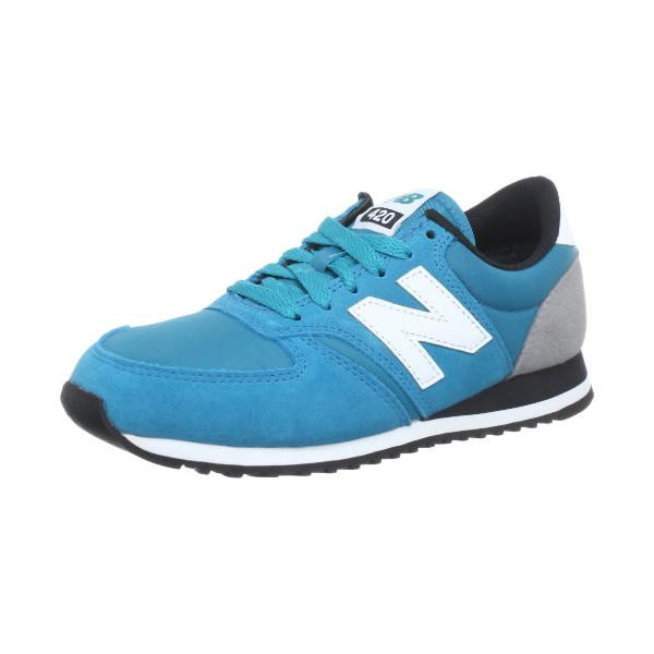 New Balance Men's U420 Classic Running Shoe,Blue/White,10 D US