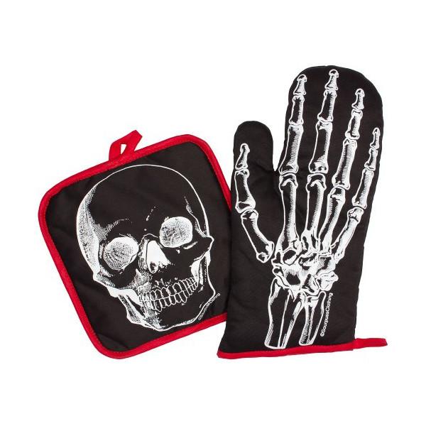 Sourpuss X-Ray Skeleton Kitchen Set