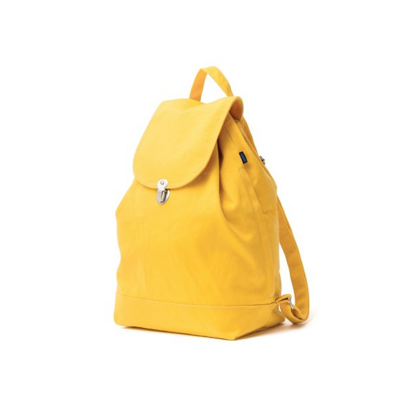 BAGGU Backpack Everyday Canvas Daypack Goldenrod