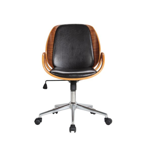 Boraam 97911 Riko Desk Chair, Black