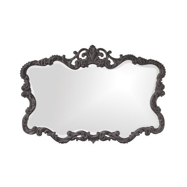 Howard Elliott 21183CH Talida Mirror, Charcoal Gray