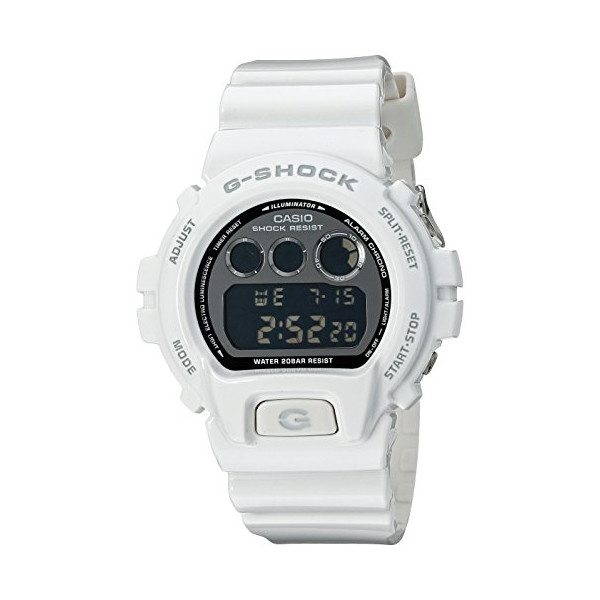 G-Shock 6900 Mirrored Metallics White