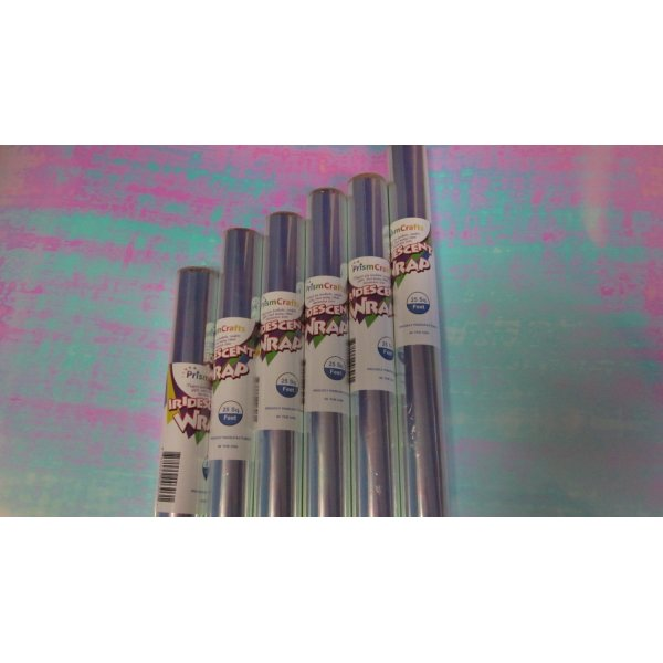 "Iridescent Wrap - 6 Pack (6 Rolls 30"" x 10' 25 SqFt/Roll)"