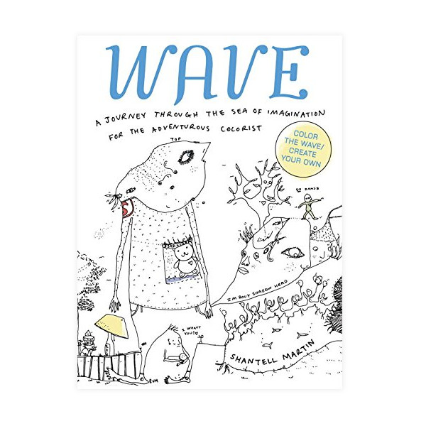 WAVE: A Journey Through the Sea of Imagination for the Adventurous Colorist