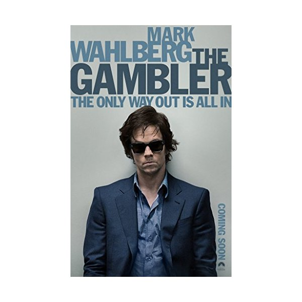 Gambler Movie Poster (45 cmx70 cm) Borderless matt Version / Mark Wahlberg