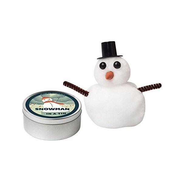 Snowman in a Tin