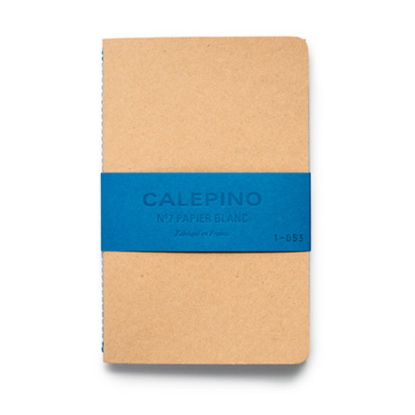 Calepino No. 7 - 2 Pack Large Notebooks with Plain Paper