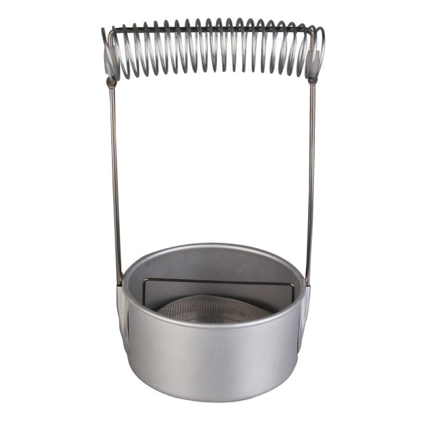 Chinatera Paint Brush Washer with Screen and Holder Spring Stainless Steel