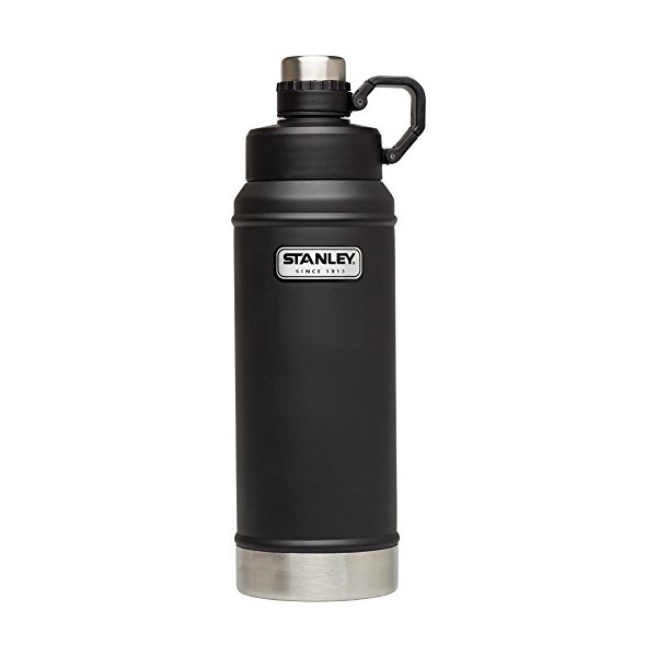 Stanley Classic Vacuum Water Bottle, 36 oz, Matte Black