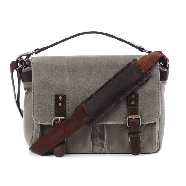 ONA The Prince Street Waxed Canvas Camera Messenger Bag