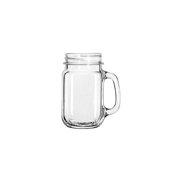 County Fair Drinking Jar with Plain Panels - 16 oz. - Set of 12